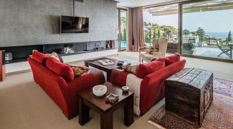 Luxury villa in Lagonisi Athens, Villas in Attica, Villas in south Athens, villas in Lagonisi, Real Estate Athens Riviera, Athens Riviera Villas 18