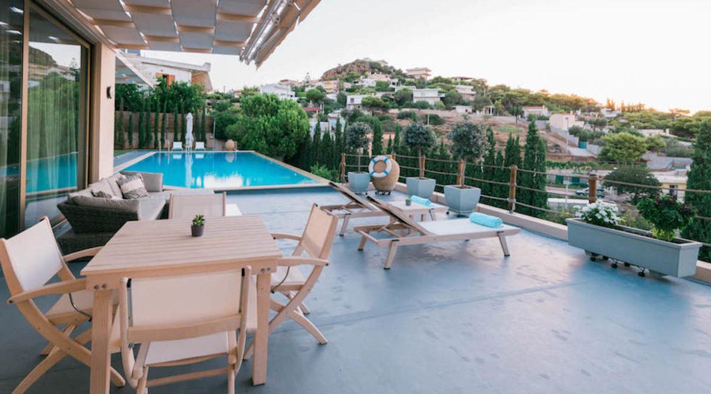 Luxury villa in Lagonisi Athens, Villas in Attica, Villas in south Athens, villas in Lagonisi, Real Estate Athens Riviera, Athens Riviera Villas 3