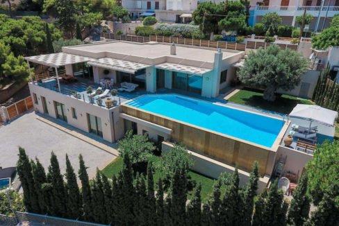 Luxury villa in Lagonisi Athens, Villas in Attica, Villas in south Athens, villas in Lagonisi, Real Estate Athens Riviera, Athens Riviera Villas 4