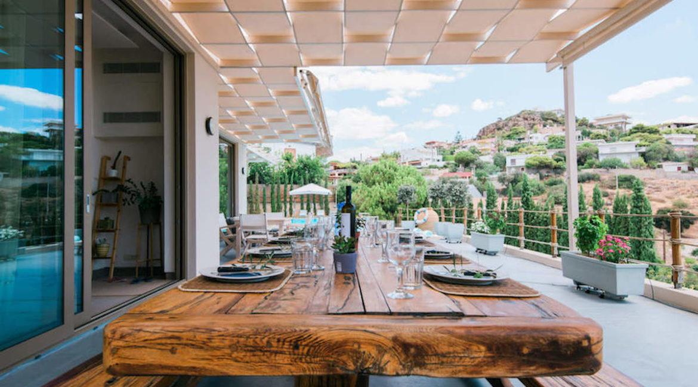 Luxury villa in Lagonisi Athens, Villas in Attica, Villas in south Athens, villas in Lagonisi, Real Estate Athens Riviera, Athens Riviera Villas 7