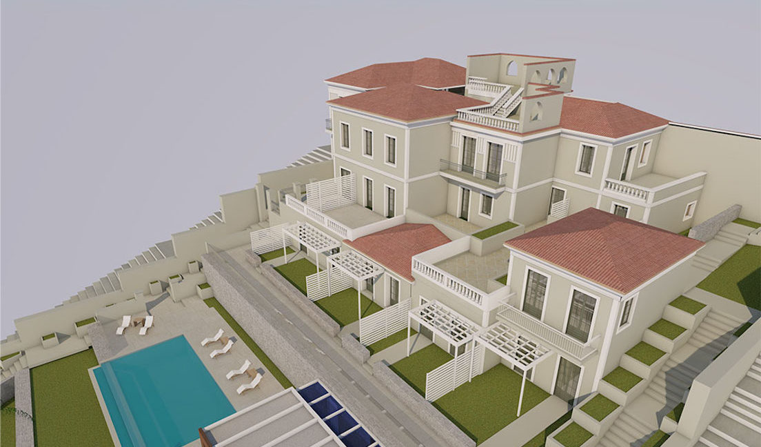 Old Villa in Samos to restore, by the sea, Building to renovate in Greek island, Old building by the sea to restore, Old Building to restore in Greek Island 10
