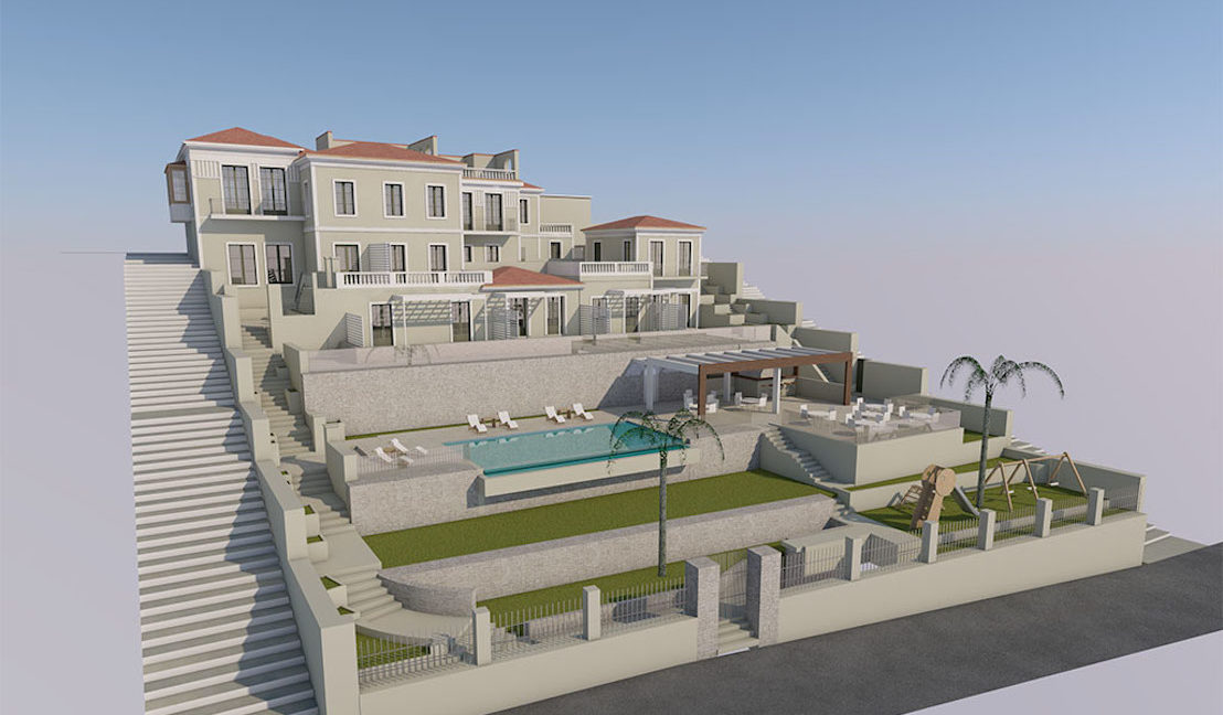 Old Villa in Samos to restore, by the sea, Building to renovate in Greek island, Old building by the sea to restore, Old Building to restore in Greek Island 12