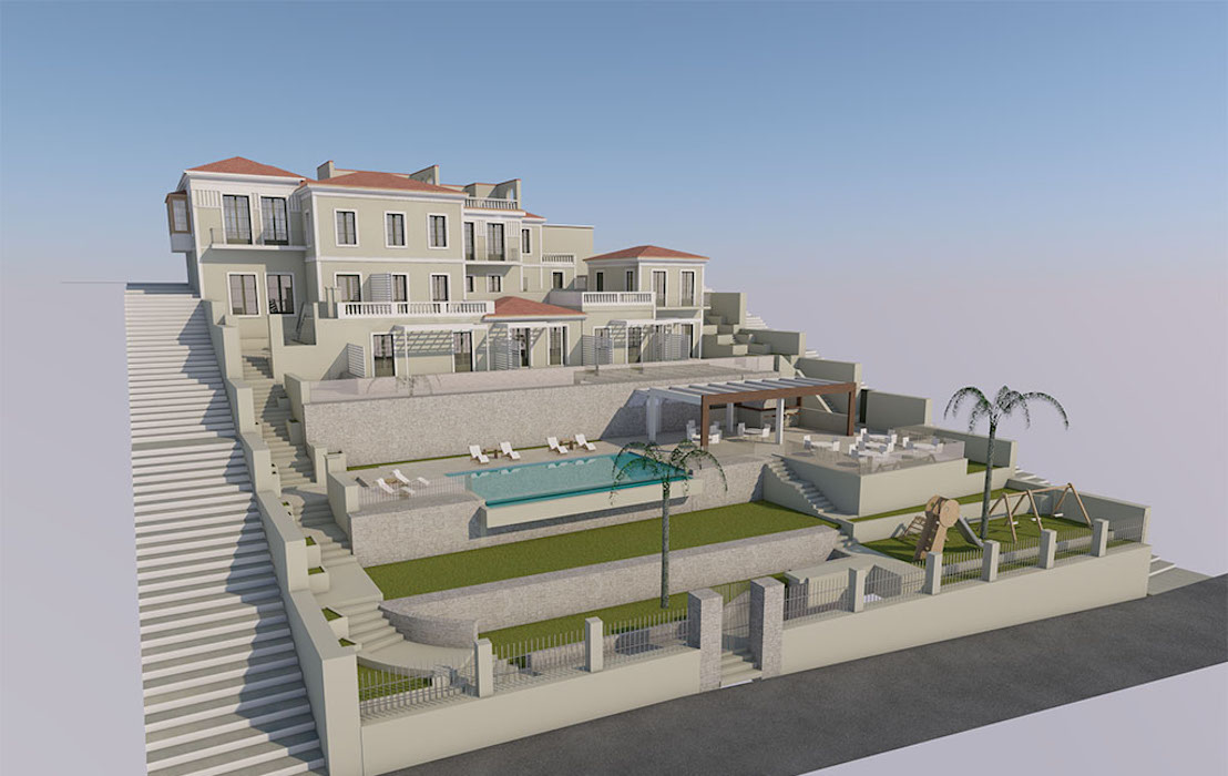 Old Villa in Samos to be restored, by the sea