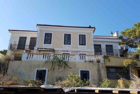 Old Villa in Samos to restore, by the sea, Building to renovate in Greek island, Old building by the sea to restore, Old Building to restore in Greek Island 13