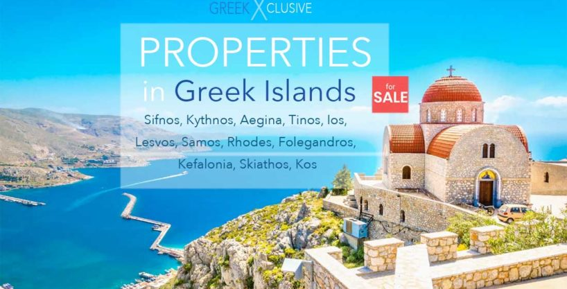 Properties in the Greek Islands, Homes for Sale in Greek Islands