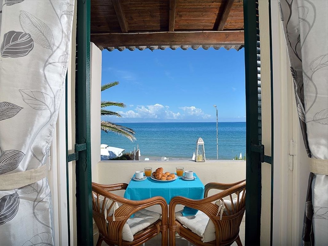 Beachfront House in Corfu excellent Investment for Booking Rentals