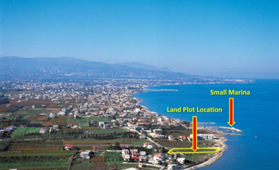 Seafront Land Plot Near Korinthos, Allowance to Built 650 sqm of Villas and much more for building a Hotel. Land for investment on the sea Peloponnese 2