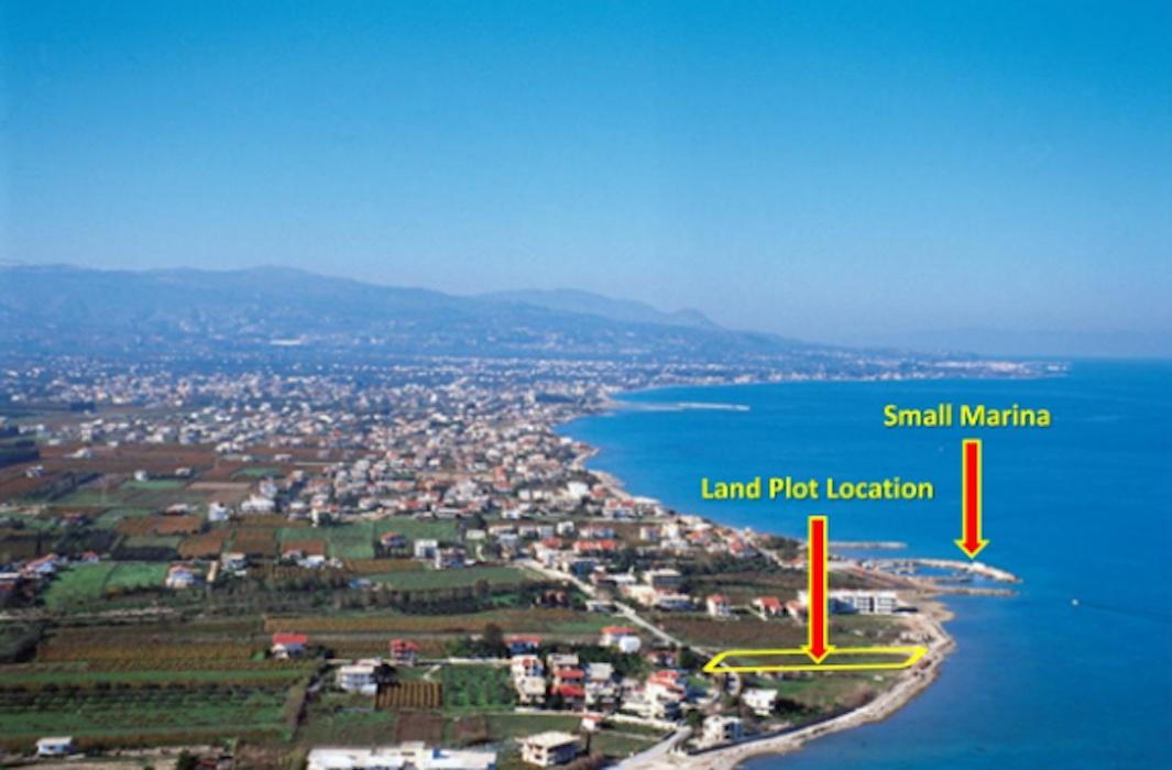 Seafront Land Plot Near Korinthos