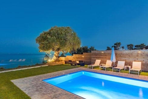 Seafront Villa in Zakynthos, Beachfront Villa in Zakynthos for sale, Zante villa on the beach, Zante Real Estate, Zakynthos Realty 11