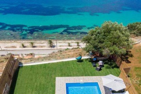 Seafront Villa in Zakynthos, Beachfront Villa in Zakynthos for sale, Zante villa on the beach, Zante Real Estate, Zakynthos Realty 23