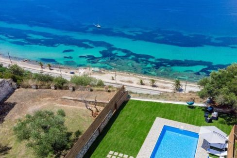 Seafront Villa in Zakynthos, Beachfront Villa in Zakynthos for sale, Zante villa on the beach, Zante Real Estate, Zakynthos Realty 25