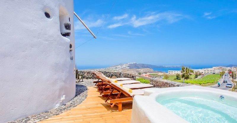 Windmill for sale in Santorini