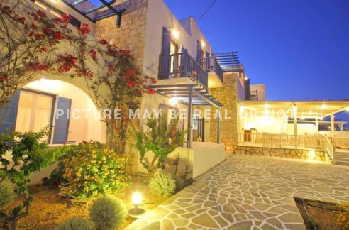 Beachfront Apartments hotel Paros, Hotel for Sale in Paros island, Cyclades Hotel for Sale, Boutique hotel in Paros for sale