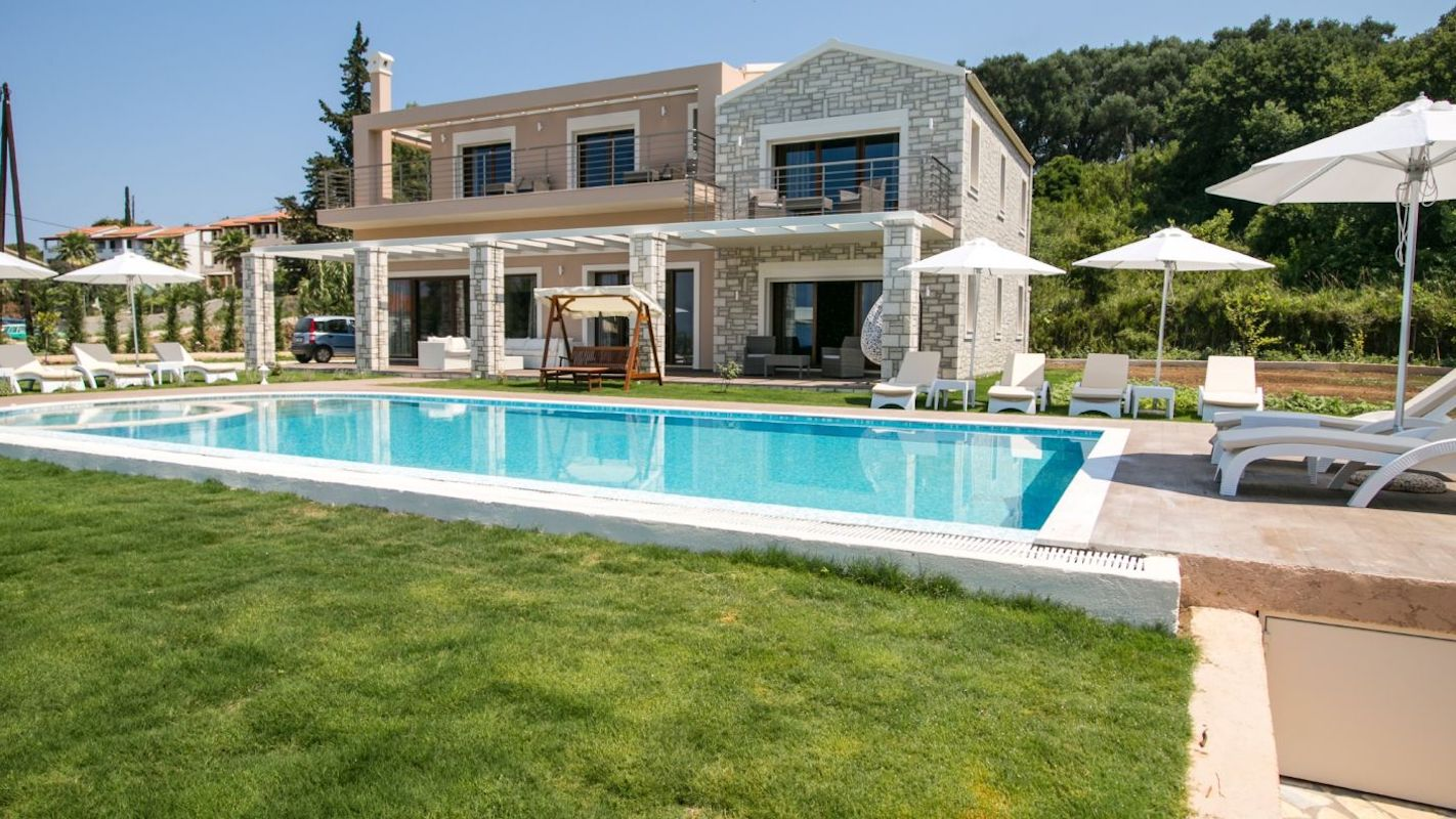 Beachfront Villa Corfu