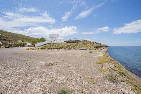Beachfront Villa Santorini, Property in Santorini by the sea, Seafront Property in Santorini, Real Estate in Santorini Greece