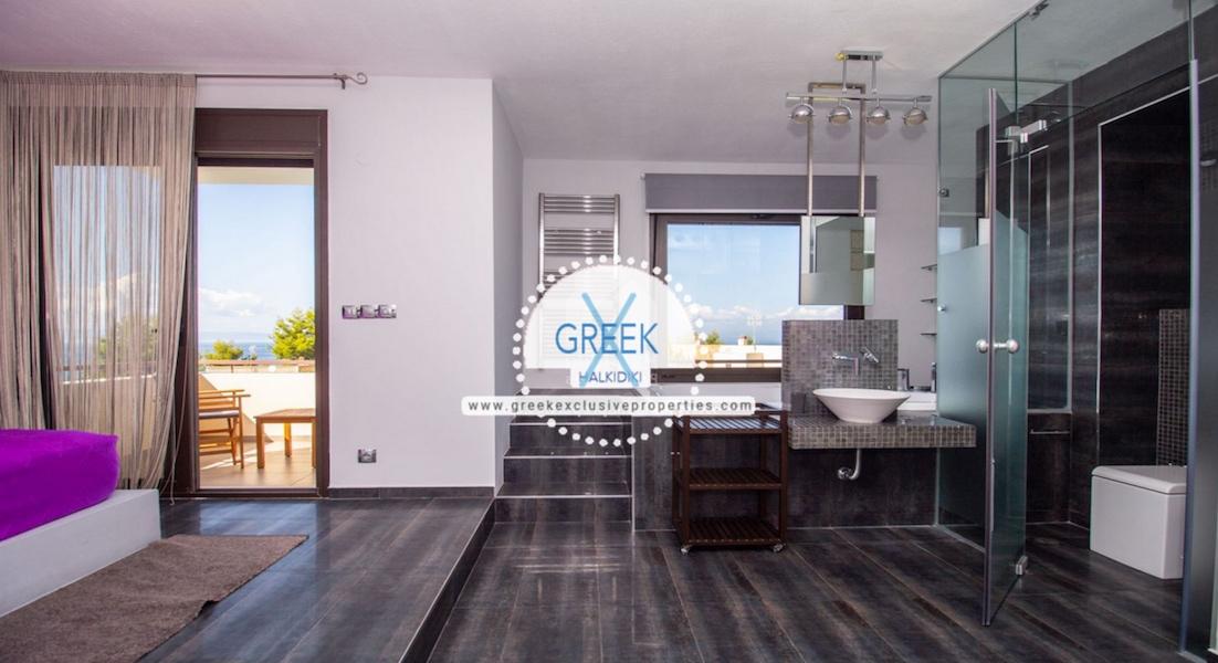 Beautiful Villa at Chanioti Halkidiki, Kassandra Halkidiki, Halkidiki Properties, Homes for sale in Halkidiki 10