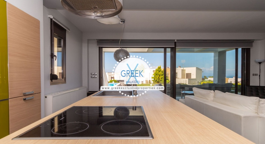 Beautiful Villa at Chanioti Halkidiki, Kassandra Halkidiki, Halkidiki Properties, Homes for sale in Halkidiki 13