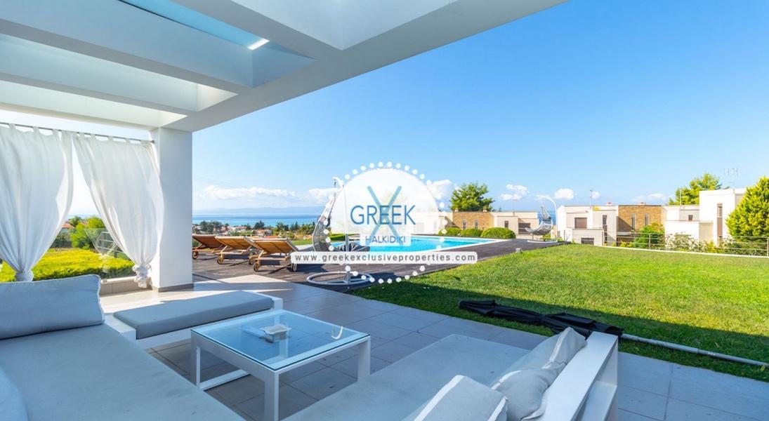 Beautiful Villa at Chanioti Halkidiki, Kassandra Halkidiki, Halkidiki Properties, Homes for sale in Halkidiki 21