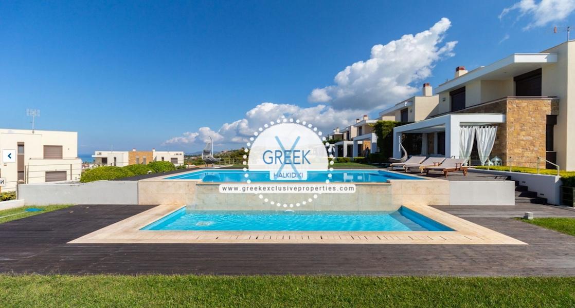 Beautiful Villa at Chanioti Halkidiki, Kassandra Halkidiki, Halkidiki Properties, Homes for sale in Halkidiki 23
