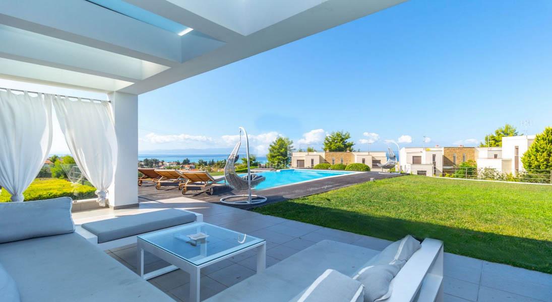 Beautiful Villa at Chanioti Halkidiki, Kassandra Halkidiki