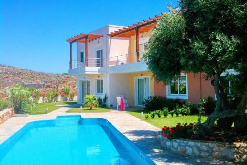 Villa with shared pool in Chania Crete, Chorafakia, House for Gold Visa in Crete, Property in Crete, Buy a house in Chania