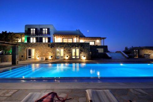 Luxury Estate in Mykonos, Beachfront, Villa of 950 sqm, Luxury Villas in Mykonos for Sale, Luxury Property Mykonos for sale 11