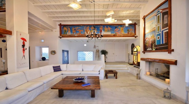 Luxury Estate in Mykonos, Beachfront, Villa of 950 sqm, Luxury Villas in Mykonos for Sale, Luxury Property Mykonos for sale 9