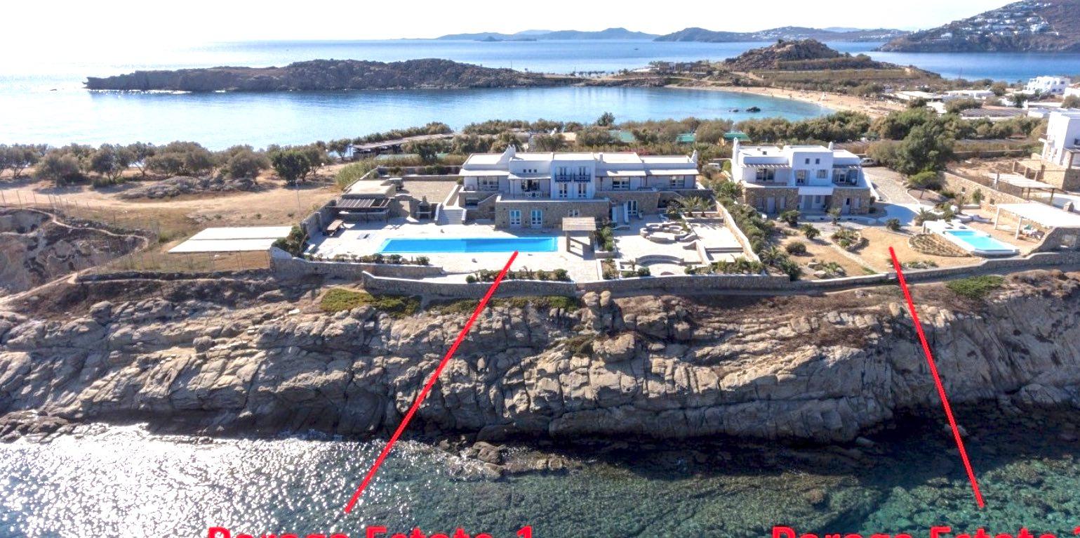 Luxury Seafront Property in Mykonos