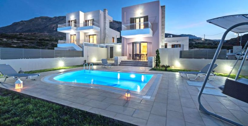 Property in Crete, Villas in South Crete by the sea