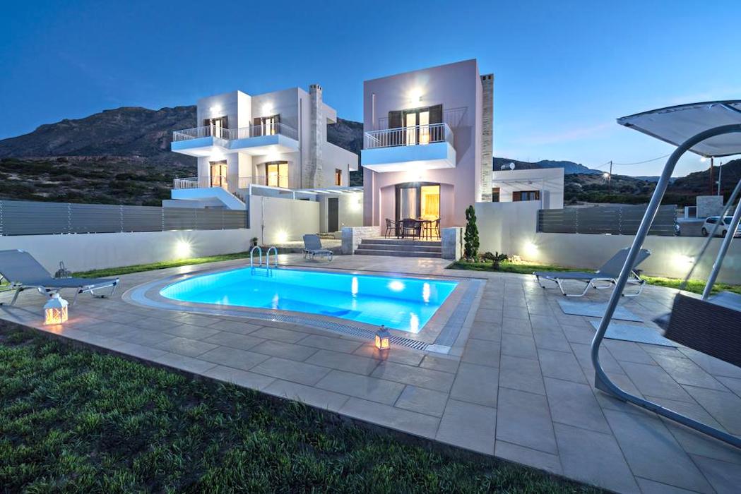 Property in Crete, 2 Villas in South Crete by the sea