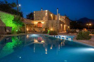 Renovated stone villa for sale in Rethymno Crete 1