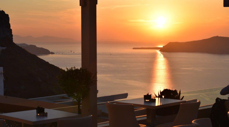 Restaurant Caldera Santorini, Restaurant at Fira Santorini 1