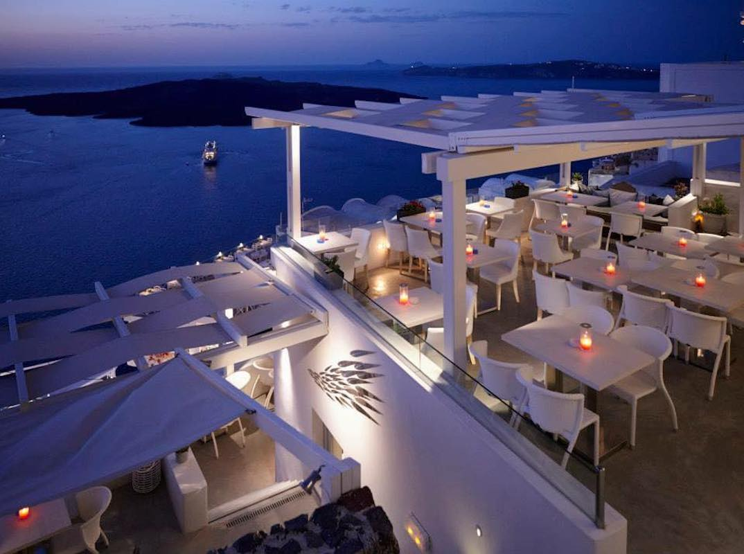 Restaurant Caldera Santorini, Restaurant at Fira Santorini