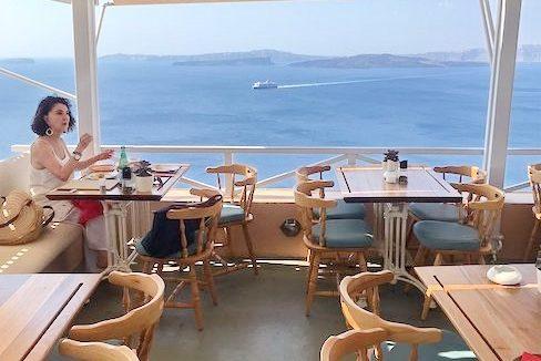 Restaurant at Santorini Oia for sale 4