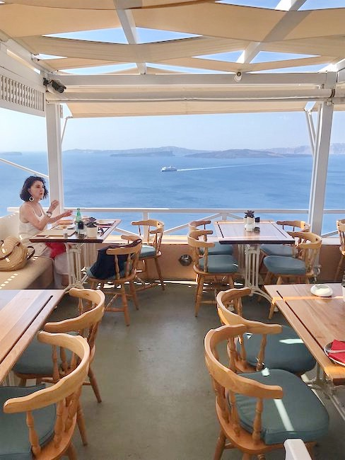 Restaurant at Santorini Oia for sale