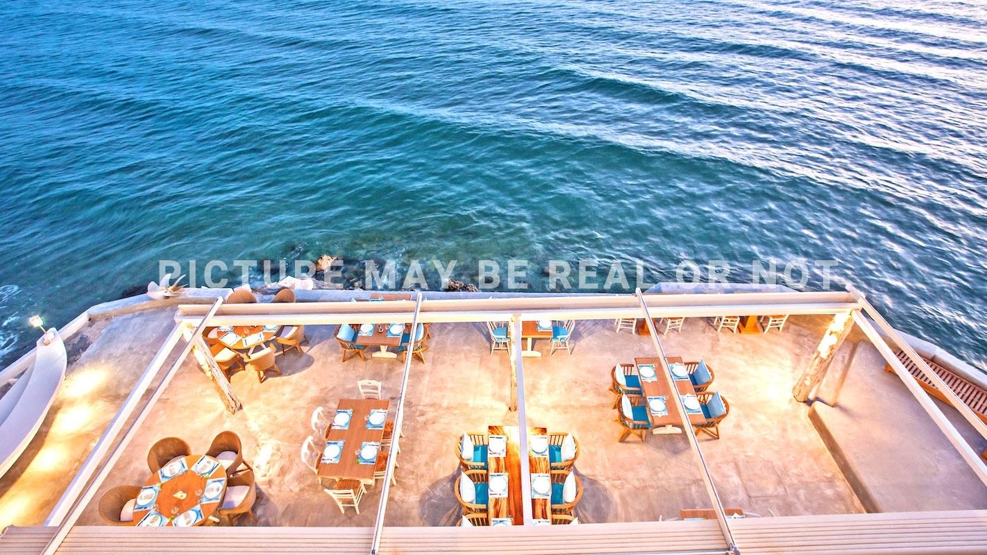 Seafront Boutique Beach Hotel in Crete
