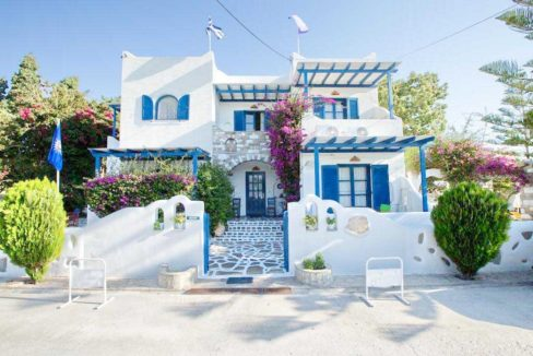 Small Apartments Hotel in Paros, Parikia, Hotel for Sale Paros, Invest in Paros, Paros Real Estate, Boutique Hotel in Paros for Sale