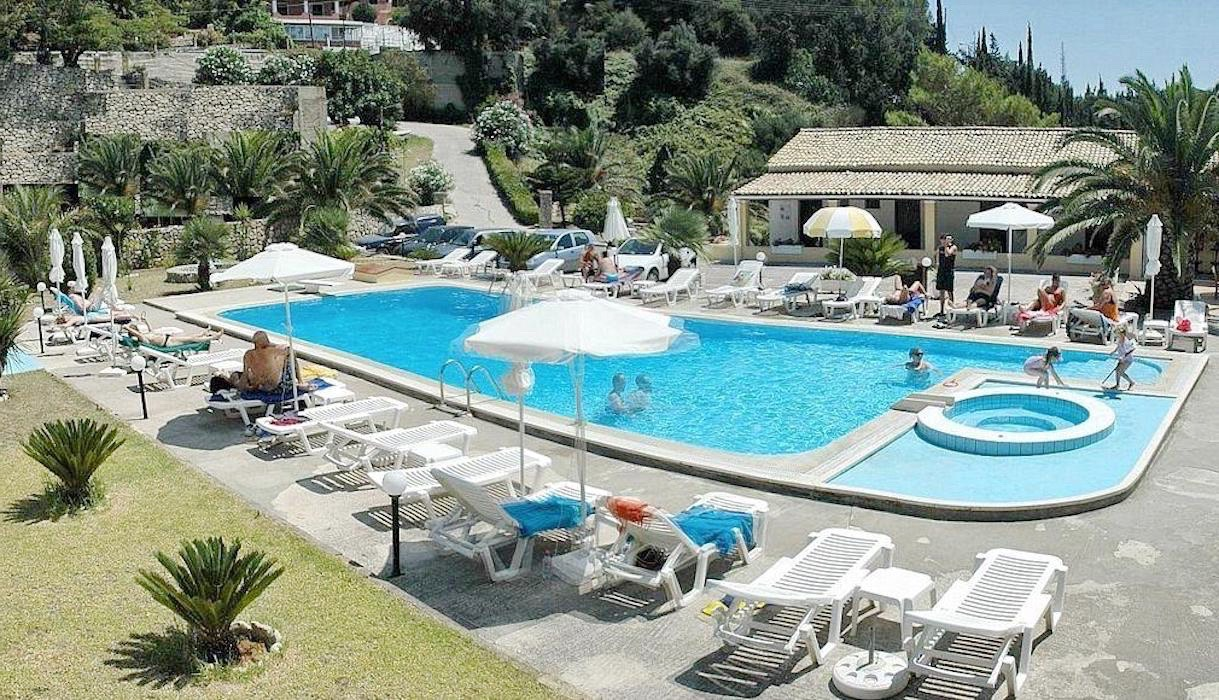 Small hotels for sale in Greece, Hotel for Sale in Corfu Greece with 10 rooms