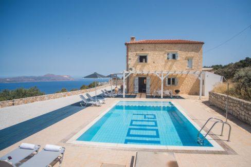 Stone House With Beautiful Sea Views in Chania Crete, Villas in Crete for sale, Property in Crete for sale, Houses in Crete
