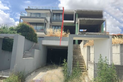 Unfinished Villa for Sale in Thessaloniki, Thermi, investment in Thessaloniki 2