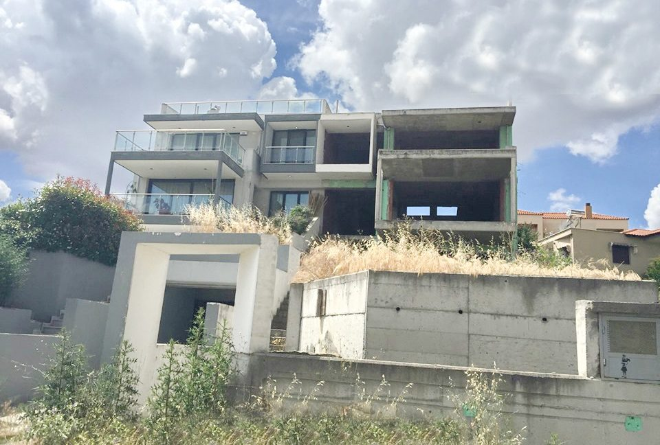 Unfinished Villa for Sale in Thessaloniki, Thermi, investment in Thessaloniki 4