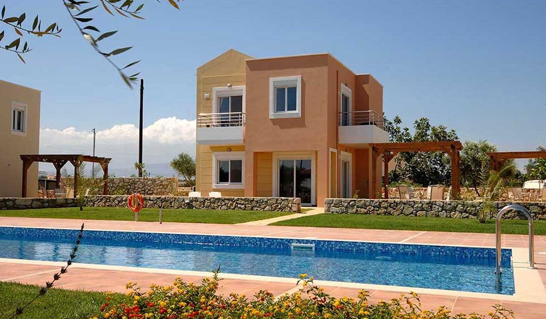 Villas with shared pool, Chania Crete, Buy a house in Crete, House for Gold visa in Greek Islands, Property in Crete