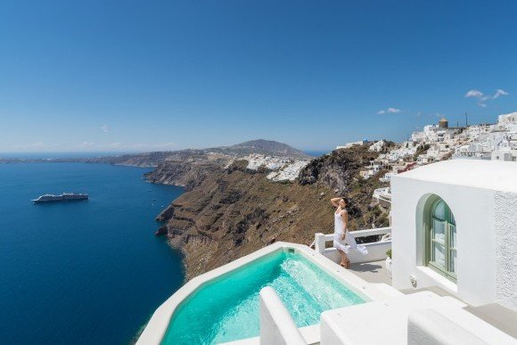 Caldera Villas in Santorini, Cave Houses for sale Santorini Greece