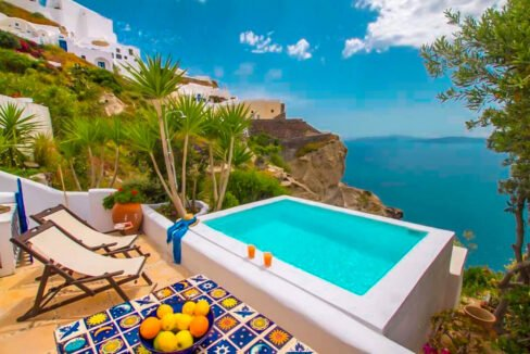 Caldera Villas in Santorini, Cave Houses for sale Santorini Greece, Real Estate Santorini