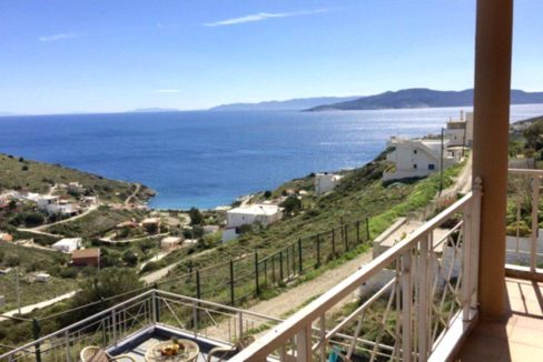 House with Sea View East Athens, Kakia Thalassa, House in Athens, House for GOLD VISA