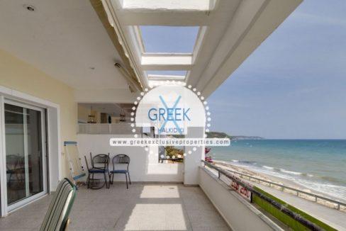 Seafront Apartment in Halkidiki, Siviri, Halkidiki Properties, Apartment Halkidiki Greece, Buy House in Halkidiki Greece