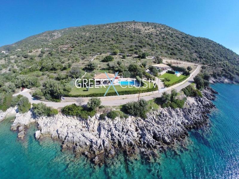 Seafront Property in Lefkada, Seafront Villa in Lefkada Greece, Real Estate in Lefkada 1