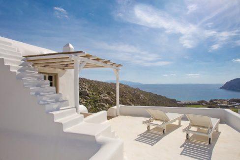 Villa in Mykonos with excellent sea view, Agrari, Mykonos villas, Mykonos luxury villas 11