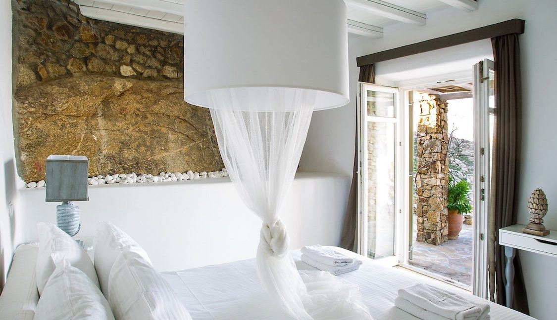 Villa in Mykonos with excellent sea view, Agrari, Mykonos villas, Mykonos luxury villas 14
