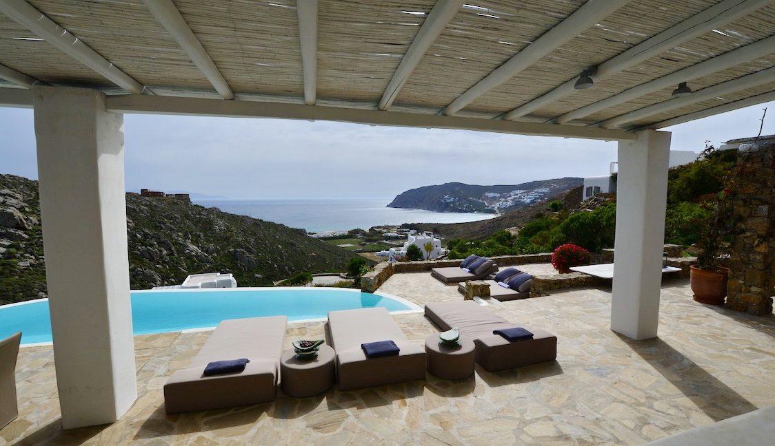 Villa in Mykonos with excellent sea view, Agrari, Mykonos villas, Mykonos luxury villas 15